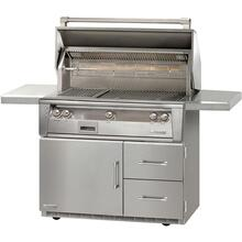 "42"" Standard Grill on Refrigerated Base Sear Zone"