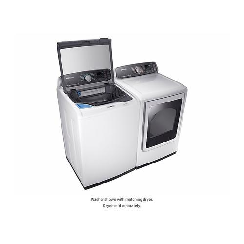 Samsung - 5.2 cu. ft. activewash™ Top Load Washer in White