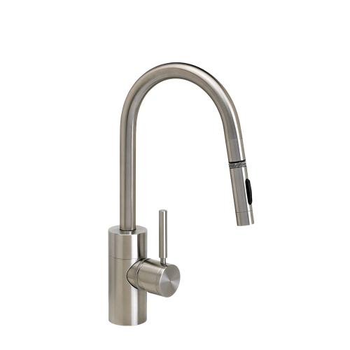 Contemporary Prep Size PLP Pulldown Faucet - Angled Spout - 5910 - Waterstone Luxury Kitchen Faucets