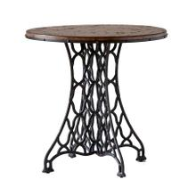 Wood & Metal End Table