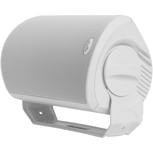 "All Weather Outdoor Loudspeakers with 4.5"" Drivers and 3/4"" Tweeters in White"