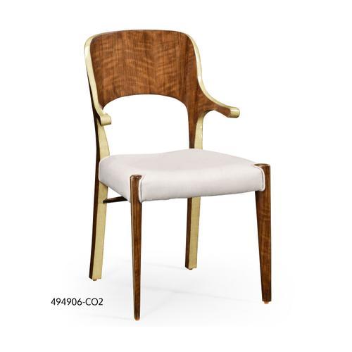 Hyedua and celadon finish armchair
