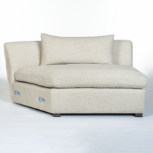 Declan Modular Sectional - Armless LAF WEDGE