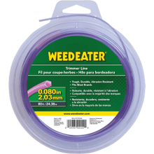 "Weed Eater Trimmer Lines .080"" x 80' Shaped Trimmer Line"