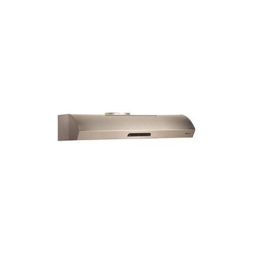 "Broan 300 CFM 36"" wide Undercabinet Range Hood in Stainless Steel"