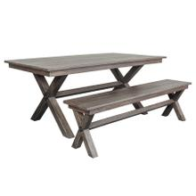 Madras Dining Table and Bench, HC4884M01