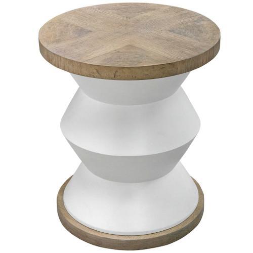 Spool Side Table