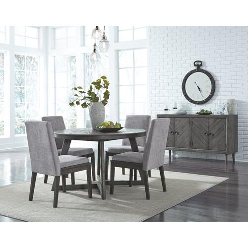 Gallery - Dining Table and 4 Chairs With Storage