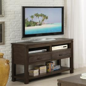 Promenade - Console Table - Warm Cocoa Finish