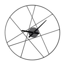"MTL WALL CLOCK 24""W, 24""H"