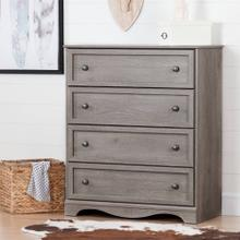 4-Drawer Chest Dresser - Sand Oak