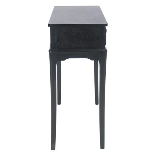Safavieh - Opal 2 Drawer Console Table - Black