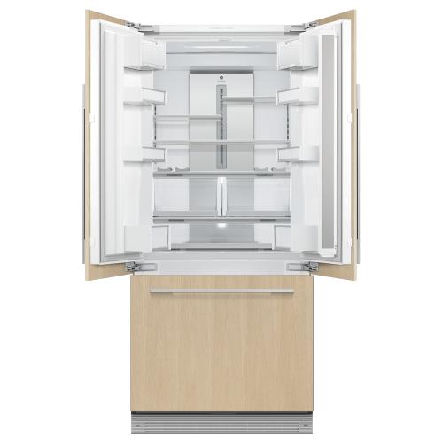 "Fisher & Paykel - Integrated French Door Refrigerator Freezer, 32"", Ice & Water"