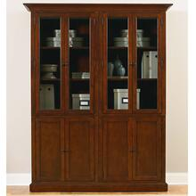 Guilford Medium Cherry Double Display Cabinet