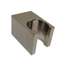 F902-24BN SQU Handshower Holder Brushed Nickel