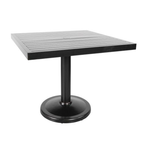 "Monaco 36"" Square Pedestal Dining Table"