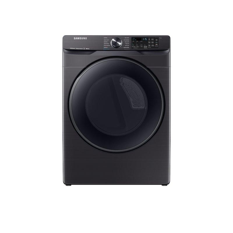 7.5 cu. ft. Smart Gas Dryer with Steam Sanitize+ in Black Stainless Steel