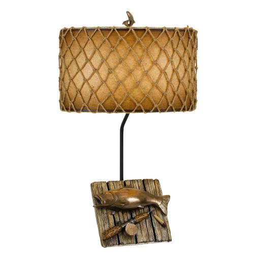 150W Fishing Resin Table Lamp