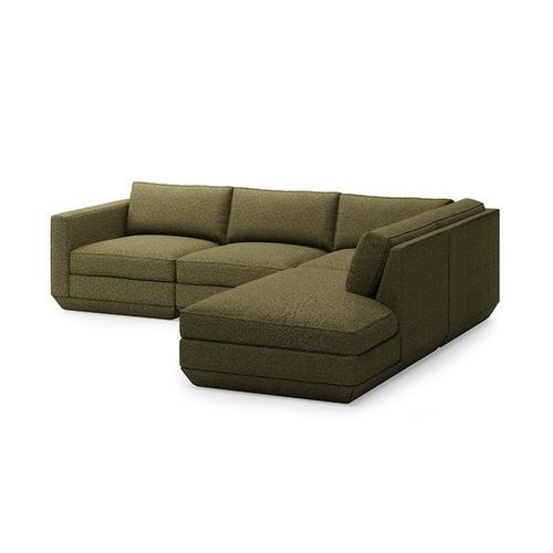Product Image - Podium 4PC Lounge Sectional A New Copenhagen Terra / Right Facing