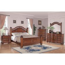 Barkley Square Bedroom - Queen Bed, Dresser, Mirror, Chest, and Night Stand