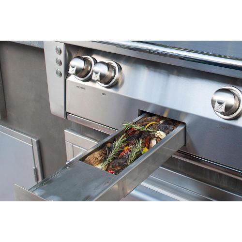 """Alfresco - 56"""" Standard Grill on Refrigerated Base Side Burner"""