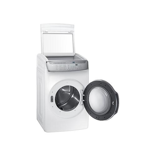 7.5 cu. ft. FlexDry™ Gas Dryer in White