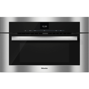 MieleH 6570 BM - 30 Inch Speed Oven with combi-modes and Roast probe for precise-temperature cooking.