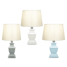 Square Urn Accent Lamp. 40W Max. (3 pc. ppk.)