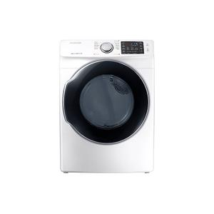 Samsung7.4 cu. ft. Gas Dryer in White