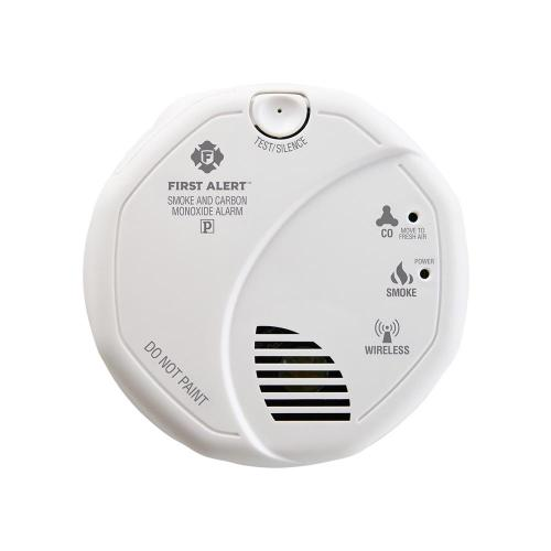 Ring - First Alert Z-Wave Plus Smoke/CO Alarm (2nd Generation) (for Works with Ring Alarm Security System) - White
