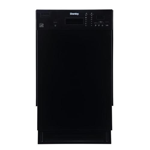 "Danby 18"" Black Built In Dishwasher"