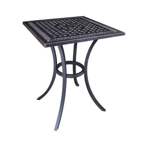 "Pure 32"" Square Balcony Table"
