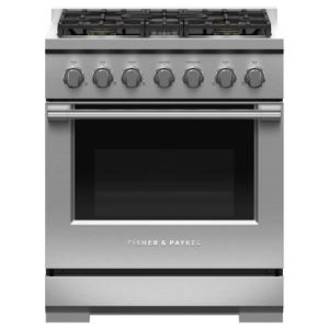 "Gas Range, 30"", 5 Burners Product Image"