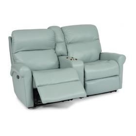 Davis Reclining Loveseat with Console