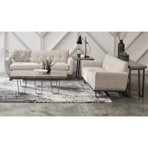 Concrete Top Sofa Table