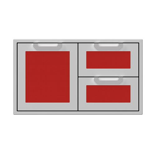"""Hestan - 36"""" Hestan Outdoor Combo Door/Drawer - AGSDR Series - Matador"""