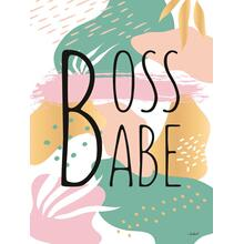 Boss Babe By Martina Pavlova (framed)