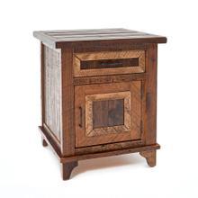 View Product - Pagosa Springs 1 Door 1 Drawer Nightstand - (hinged Left)