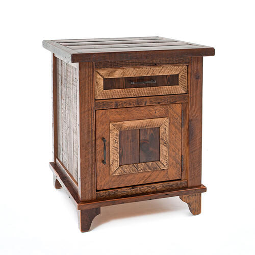 Pagosa Springs 1 Door 1 Drawer Nightstand - (hinged Left)