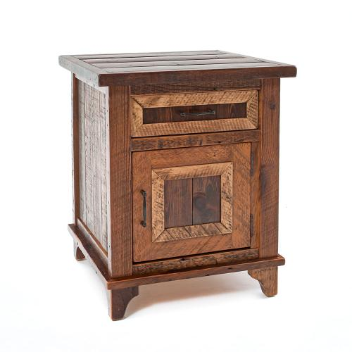 Pagosa Springs 1 Door 1 Drawer Nightstand - (hinged Right)