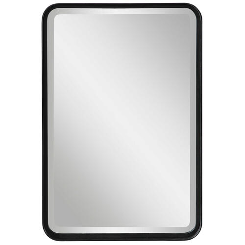 Uttermost - Croften Black Vanity Mirror