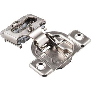 """Standard Duty 1/2"""" Overlay Self-close Compact Hinge without Dowels Product Image"""