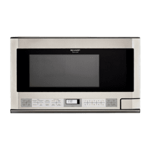 Sharp Carousel Over-the-Counter Microwave Oven 1.5 cu. ft. 1100W Stainless Steel Scratch & Dent