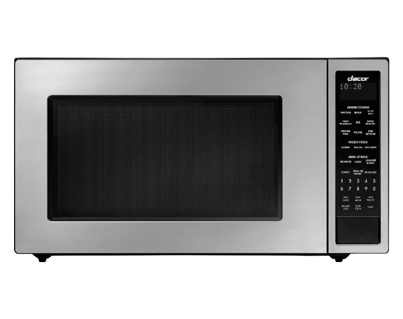 """24"""" Microwave, Silver Stainless Steel"""