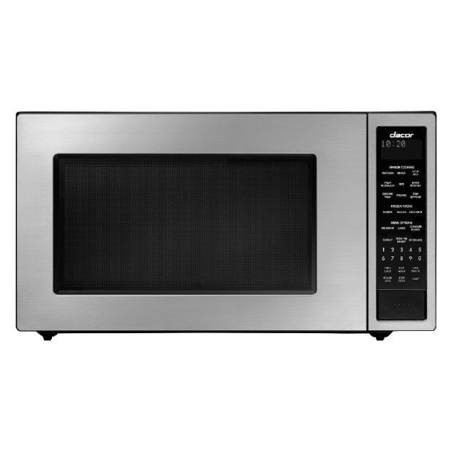 """Dacor 24"""" Microwave, Silver Stainless Steel"""