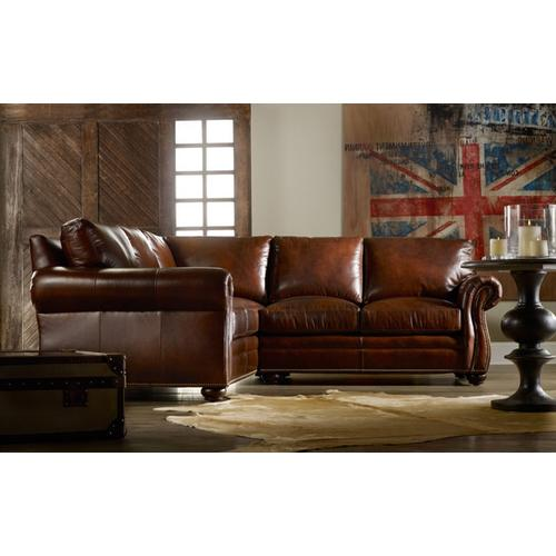 Bradington Young - Premier Collection - Sterling Leather Sectional