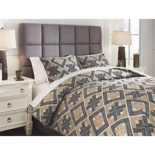 Scylla 3-piece Queen Comforter Set