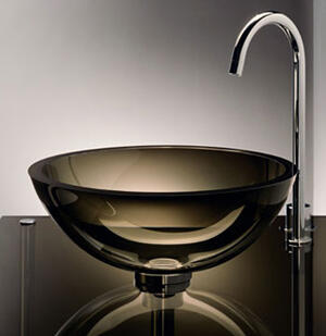 Freestanding Small Round Sink Product Image