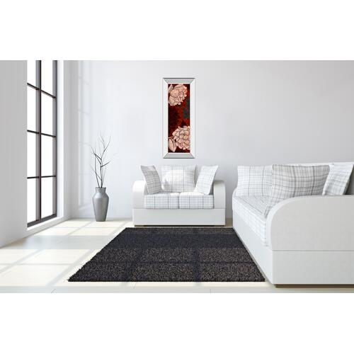 """Eliose"" By Elizabeth Medley Mirror Framed Print Wall Art"
