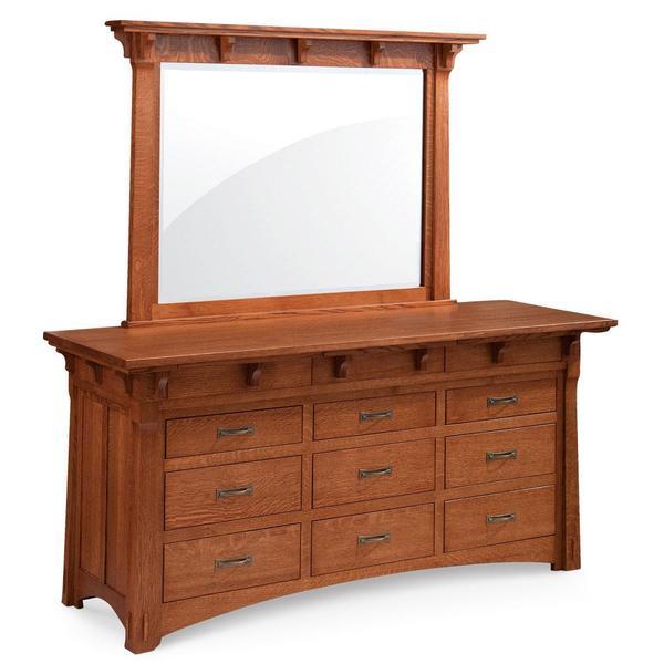 See Details - M Ryan 9-Drawer Dresser